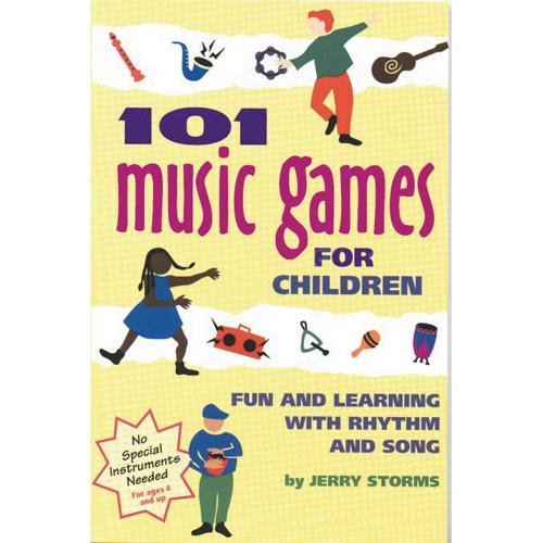 9780897931649: 101 Music Games for Children: Fun and Learning with Rhythm and Song (SmartFun Activity Books)
