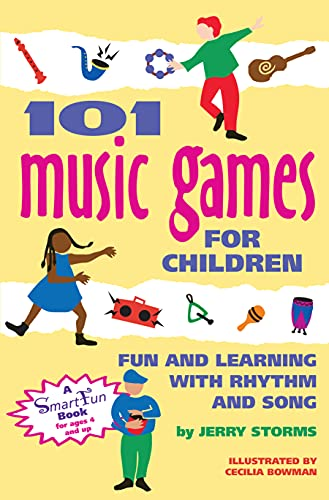9780897931656: 101 Music Games for Children: Fun and Learning with Rhythm and Song (Hunter House Smartfun Book)
