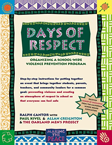 9780897932066: Days of Respect: Organizing a School-Wide Violence Prevention Program