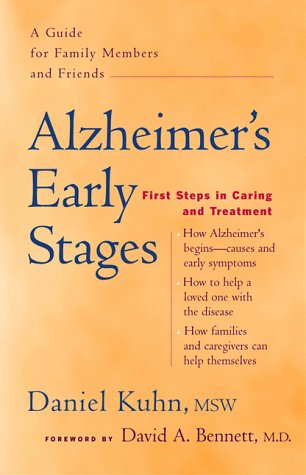 9780897932622: Alzheimer's Early Stages: First Steps in Caring and Treatment