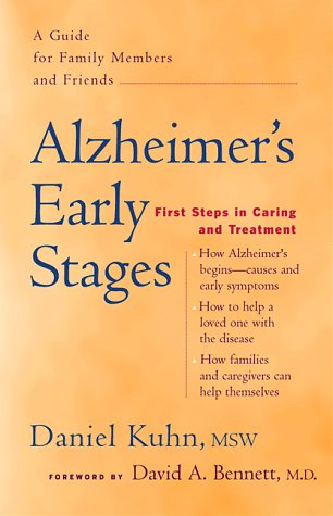 9780897932639: Alzheimer's Early Stages: First Steps in Caring and Treatment