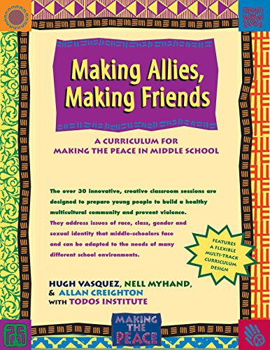 9780897933070: Making Allies, Making Friends: A Curriculum for Making the Peace in Middle School