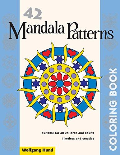 42 Mandala Patterns Coloring Book: Hund, Wolfgang