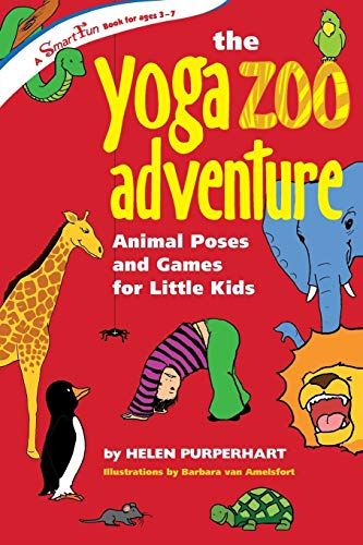 9780897935050: The Yoga Zoo Adventure: Animal Poses and Games for Little Kids (Smartfun Books)