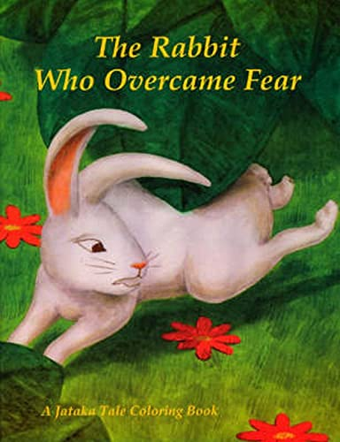 9780898003550: Coloring Book Rabbit Who Overcame Fear (Jataka Tale Coloring Books) (Spanish Edition)