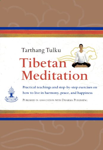 9780898003864: Tibetan Meditation: Practical Teachings and Step-by-Step Exercises on How to Live in Harmony, Peace and Happiness
