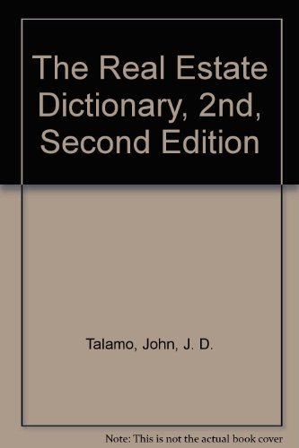 9780898030914: Real Estate Dictionary