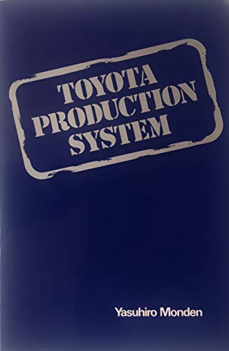 9780898060348: Toyota production system: Practical approach to production management