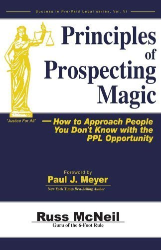 9780898114324: Principles of Prospecting Magic--How to Approach People You Don't Know with the PPL Opportunity (Suc