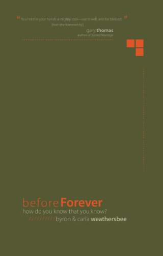 9780898115024: Before Forever: How do you know that you know?