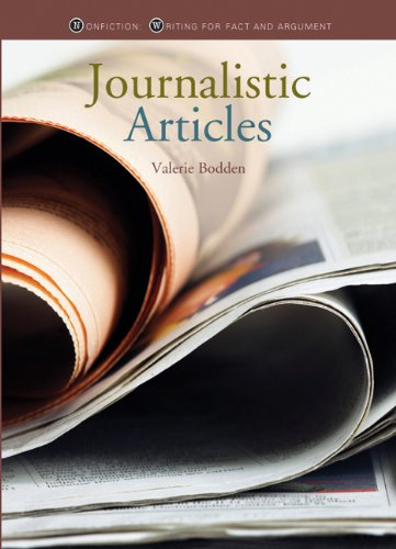 9780898125467: Nonfiction Writing: Journalistic Articles