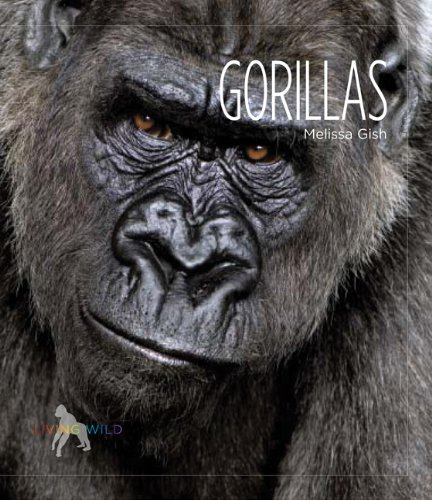 9780898125528: Living Wild: Gorillas