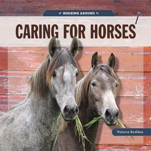 Horsing Around: Caring For Horses: Bodden, Valerie