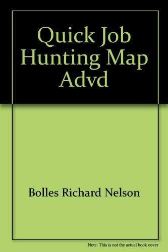 9780898150087: The Quick Job-Hunting Map: Advanced Version Trade
