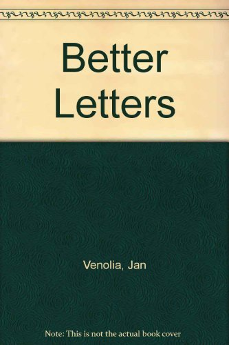 9780898150667: Better Letters: A Handbook of Business and Personal Correspondence