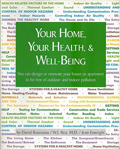 Your Home, Your Health and Well Being: David Rousseau, W.
