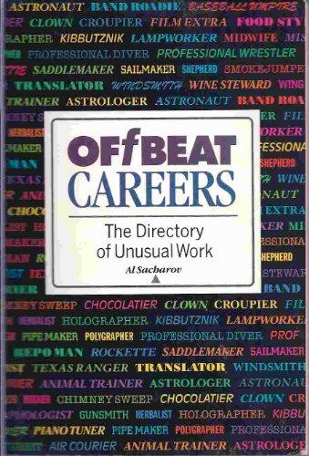 Offbeat Careers: Sacharov, Allen P.