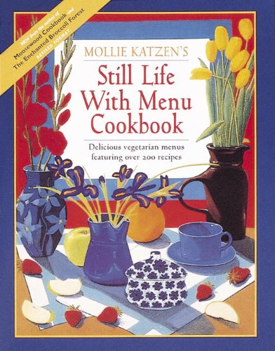 Still Life with Menu Cookbook.