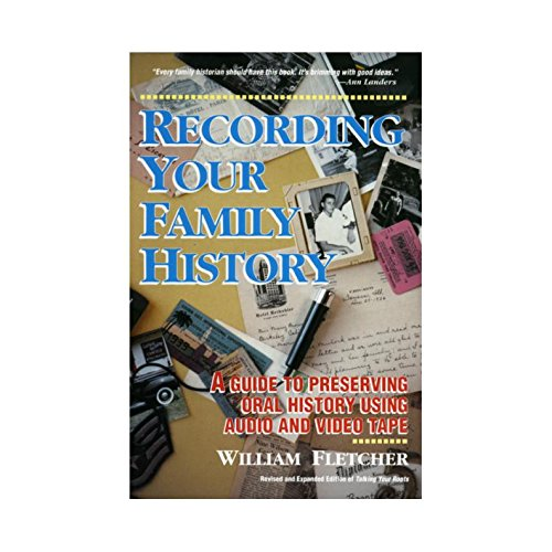 9780898153248: Recording Your Family History