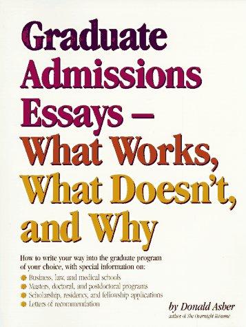 grad school admission essay editing
