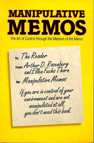 9780898156591: Manipulative Memos
