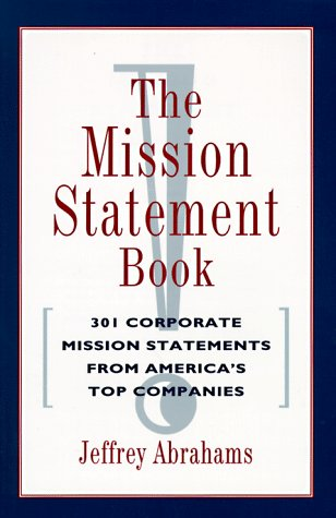 9780898156805: The Mission Statement Book (Kirsty Melville Bk)