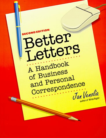 9780898157635: Better Letters: A Handbook of Business and Personal Correspondence