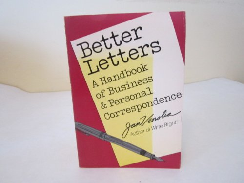 9780898157642: Better Letters: A Handbook of Business and Personal Correspondence