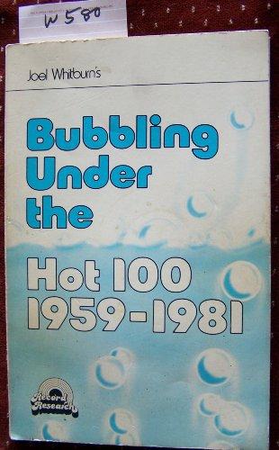 Bubbling Under the Hot 100 1959-1981: Whitburn, Joel