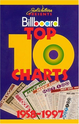 9780898201260: Joel Whitburn Presents Billboard Top 10 Charts: A Week-By-Week History of the Hottest of the