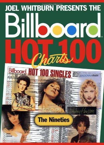 9780898201376: Joel Whitburn Presents the Billboard Hot 100 Charts: The Nineties