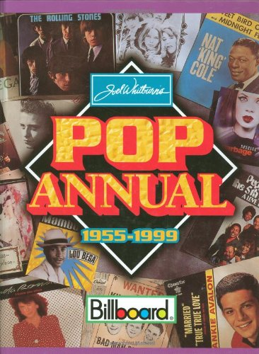 Pop Annual 1955-1999: Sixth Edition (9780898201413) by Joel Whitburn