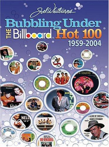 9780898201628: Bubbling Under the Billboard Hot 100: 1959-2004
