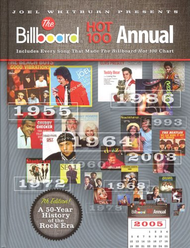 9780898201680: Joel Whitburn Presents the Billboard Hot 100 Annual 7th Edition (1955-2005)