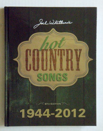 9780898202038: Hot Country Songs 1944-2012
