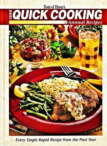 9780898212587: Taste of Home's 1999 Quick Cooking Annual Recipes