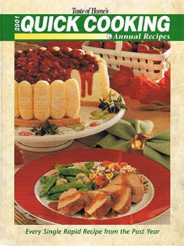 9780898213010: Taste of Home's 2001 Quick Cooking Annual Recipes