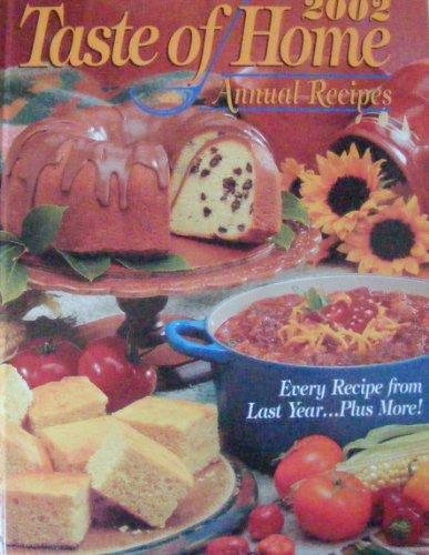 9780898213225: 2002 Taste of Home Annual Recipes