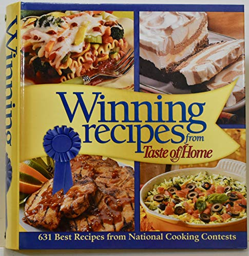 9780898215137: Winning Recipes from Taste of Home (Top Honor Recipes, Retail price $39.99)