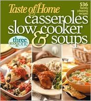 9780898216325: Taste of Home Casseroles, Slow Cooker and Soups