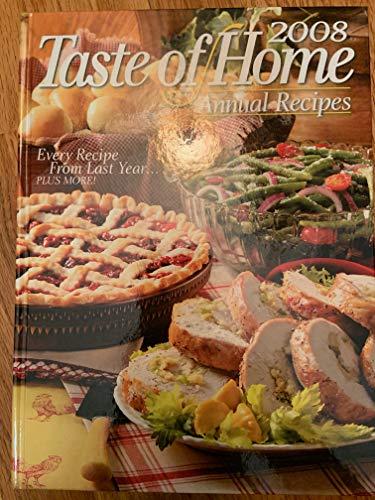 9780898216516: Taste of Home Annual Recipes 2008