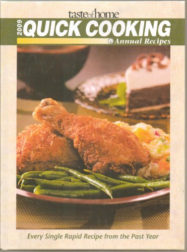 9780898217124: Taste of Home Quick Cooking Annual Recipes 2009