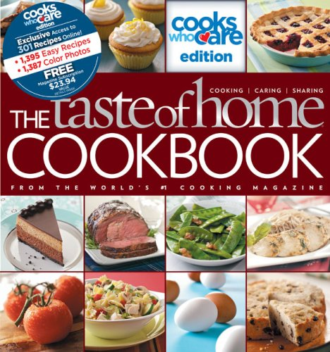 9780898217292: The Taste of Home Cookbook: Cooks Who Care Edition