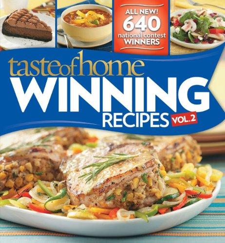 9780898217537: Taste of Home Winning Recipes II -- All New Recipes!