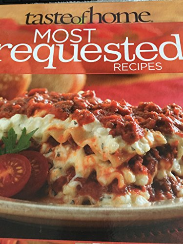 9780898217698: Taste of Home: Most Requested Recipes