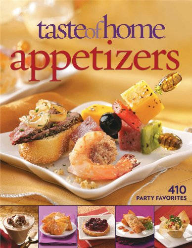 9780898218015: Taste of Home: Appetizers: 410 Party Favorites