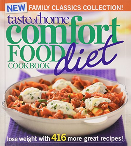 9780898218633: Taste of Home Comfort Food Diet Cookbook (New Family Classics Collection)