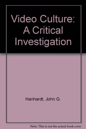 9780898220445: Video Culture: A Critical Investigation