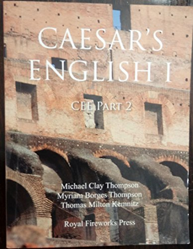 9780898244649: Ceasar's English I