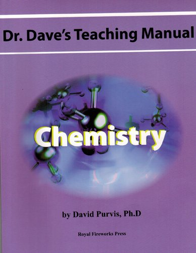 9780898247800: Dr. Dave's Teaching Manual: Chemistry (Dr. Dave's Teaching Manuals)